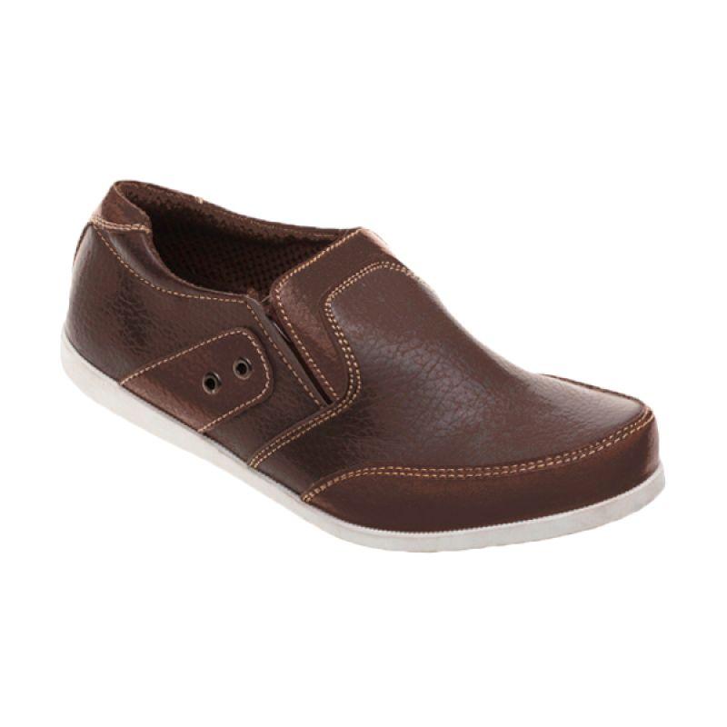 King Toes KT AN 03 Dark Brown Sepatu Pria