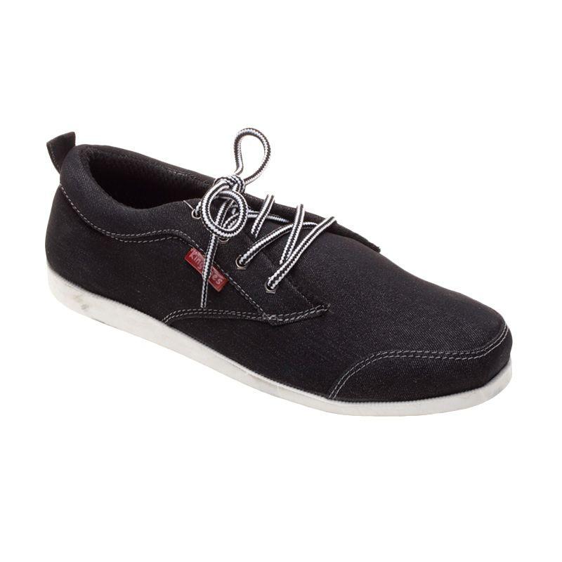 King toes KTA 02 All Black Sepatu Pria