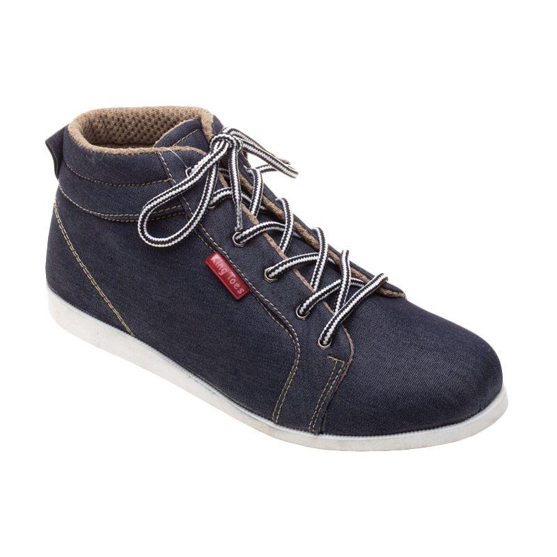 King toes KTB 01 All Blue Sepatu Pria