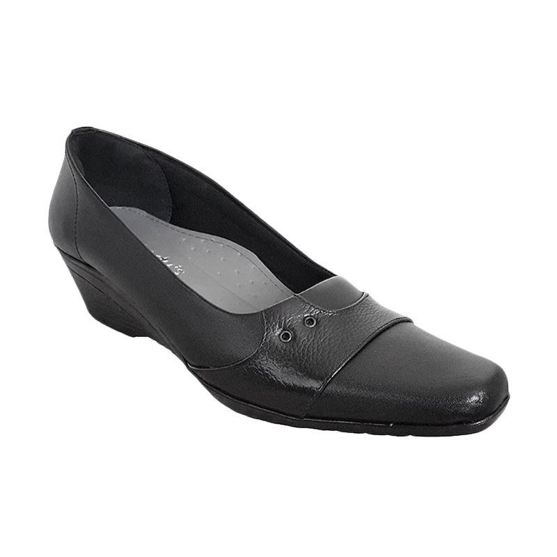 Vindy's Sakura 506 Black Sepatu Wanita