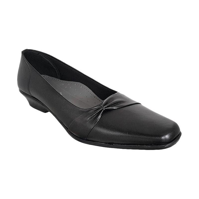 Vindy's Tulib 301 Black Sepatu Wanita