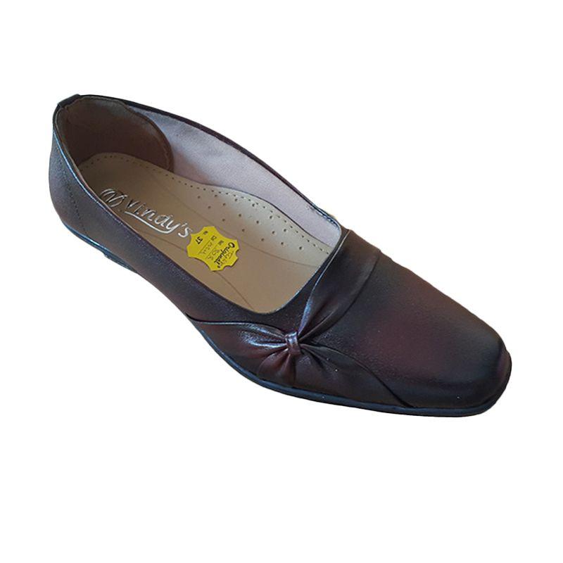 Vindy's Tulib 302 Maroon Sepatu Wanita