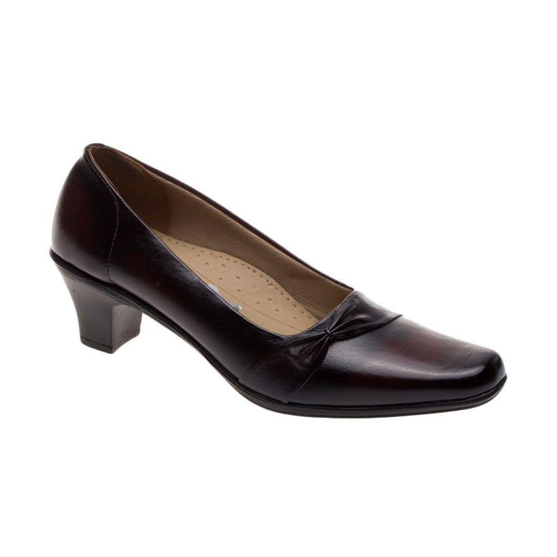 Vindy's 501 Maroon Sepatu Wanita