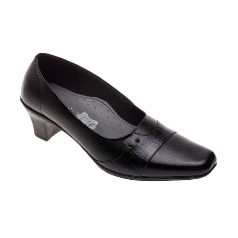 Vindy's 506 Black Sepatu Wanita