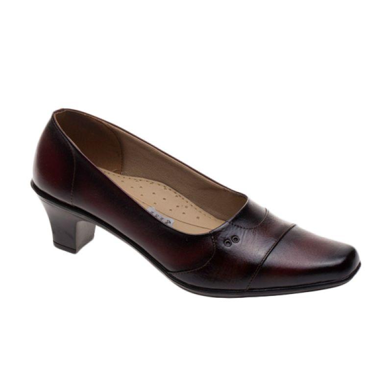 Vindy's 506 Maroon Sepatu Wanita