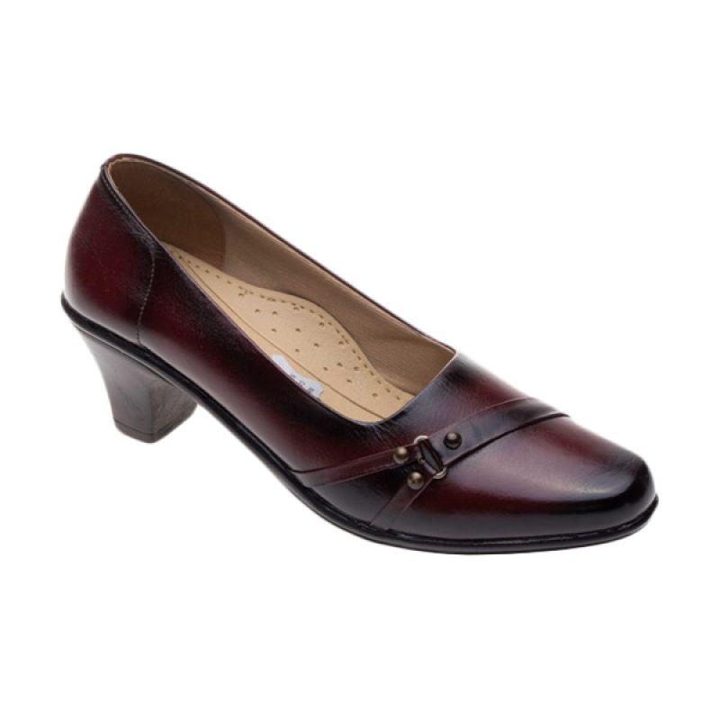 Vindy's Lili 503 Maroon Sepatu Wanita