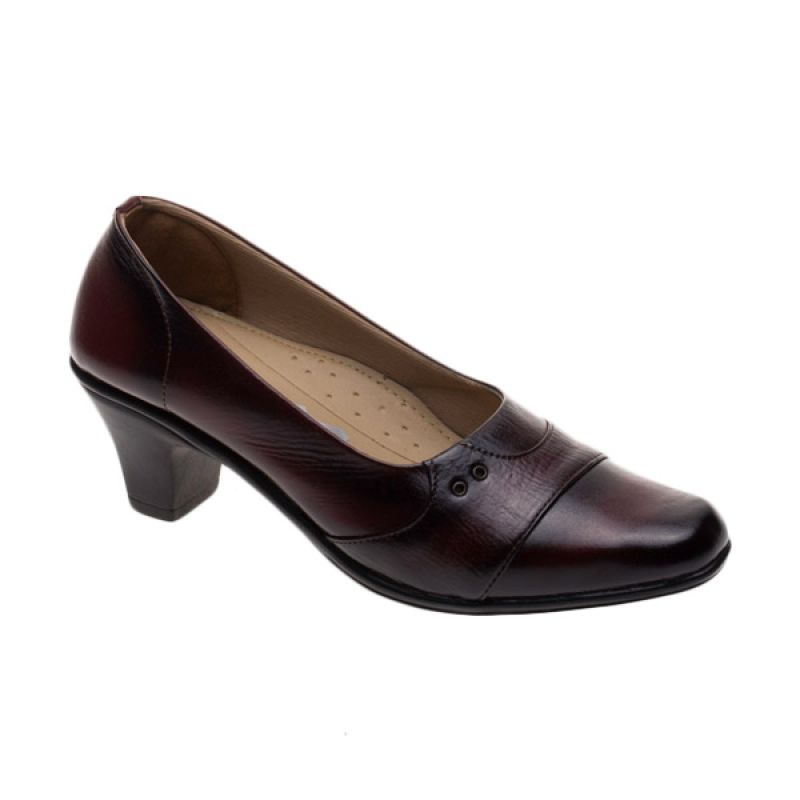 Vindy's Lili 506 Maroon Sepatu Wanita