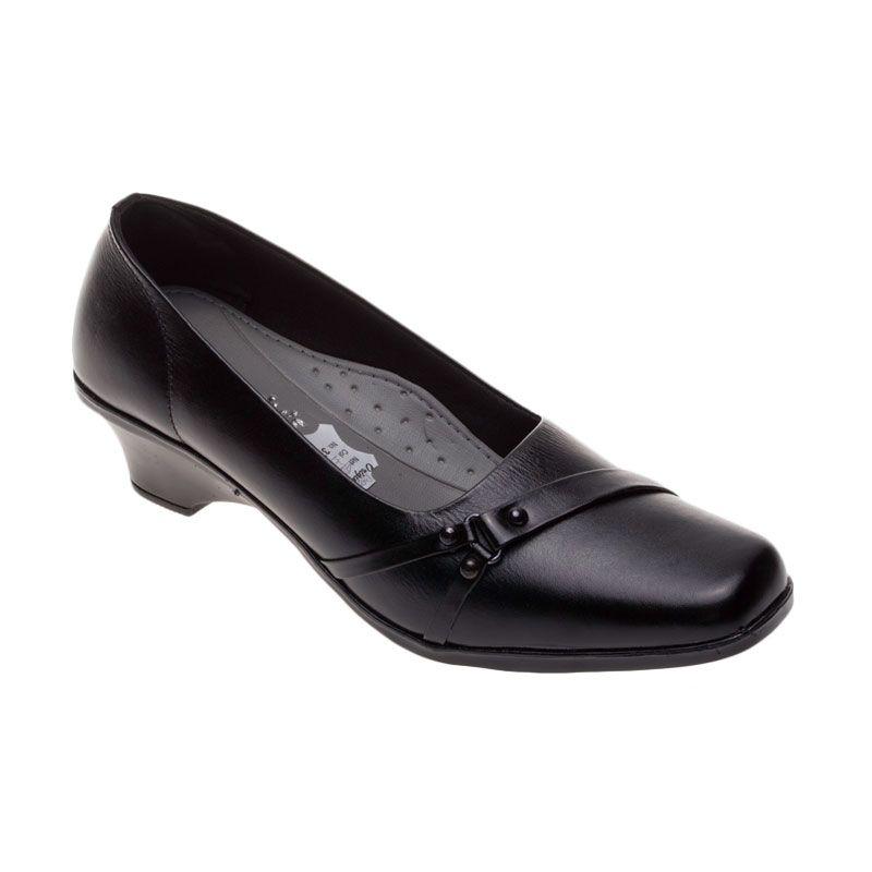 Vindy's Rose 403 Black Sepatu Wanita