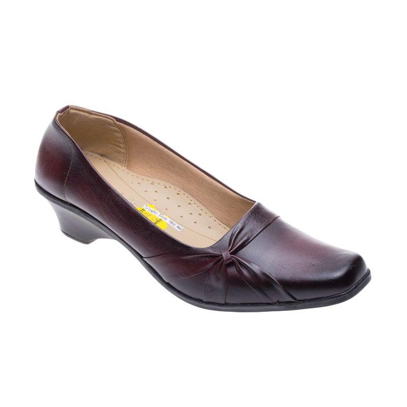 Vindy's Rose 402 Maroon Sepatu Wanita