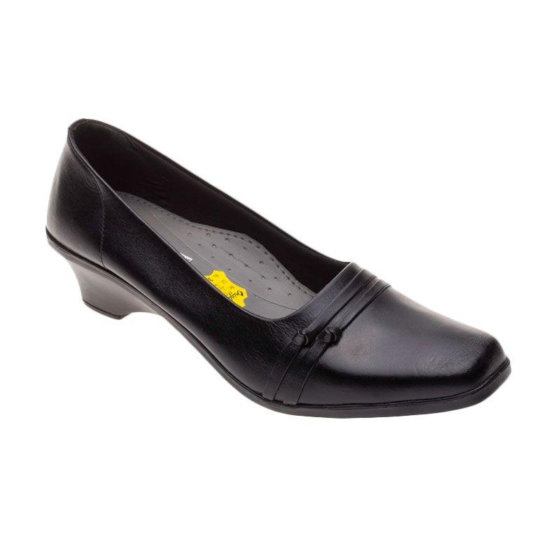Vindy's Rose 404 Black Sepatu Wanita