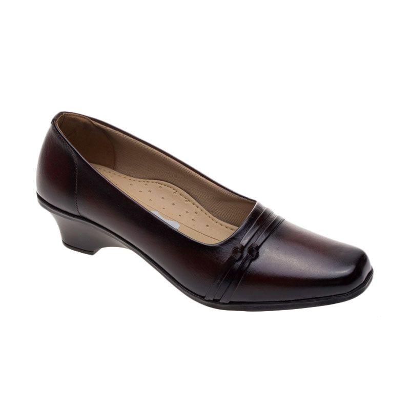 Vindy's Rose 404 Maroon Sepatu Wanita