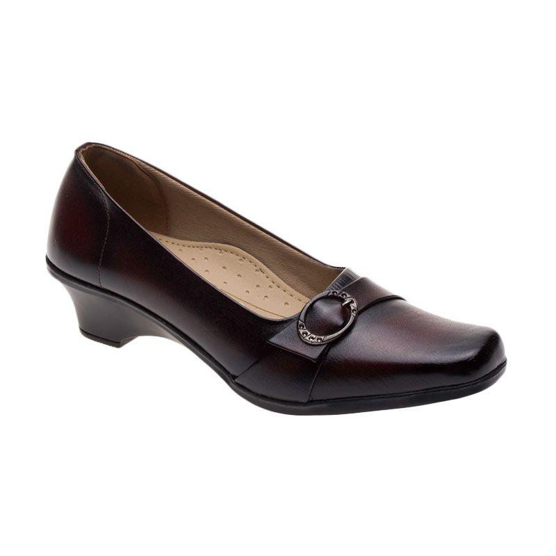 Vindy's Rose 405 Maroon Sepatu Wanita