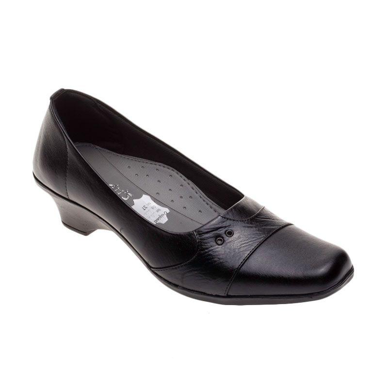 Vindy's Rose 406 Black Sepatu Wanita