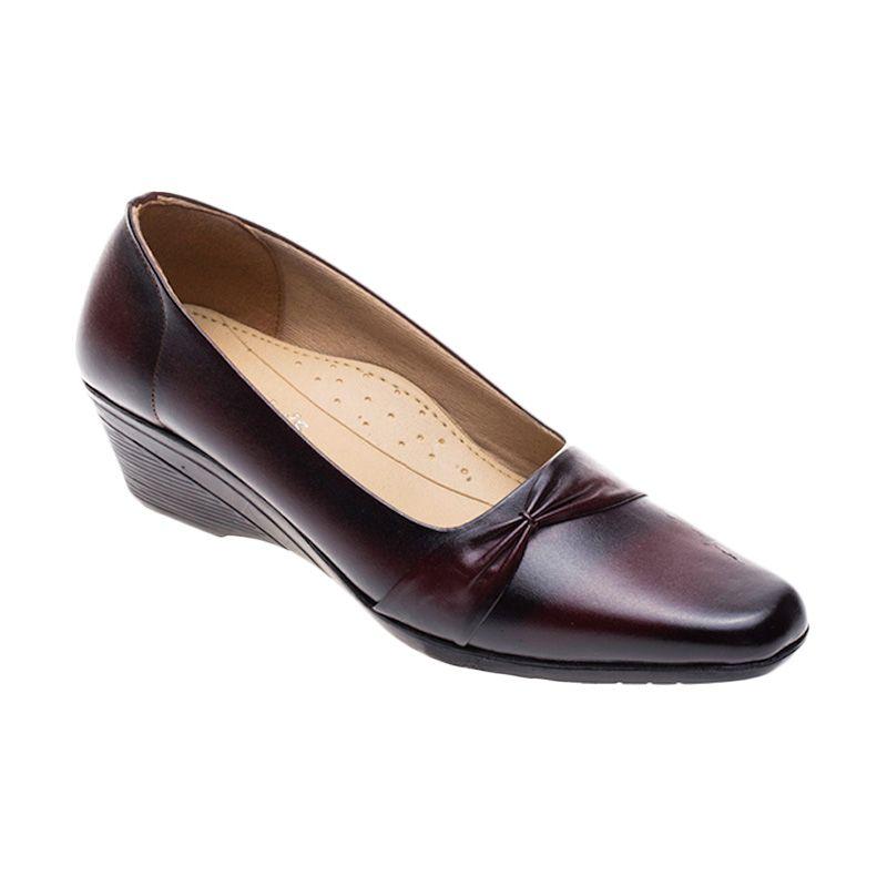Vindy's Sakura 501 Maroon Sepatu Wanita