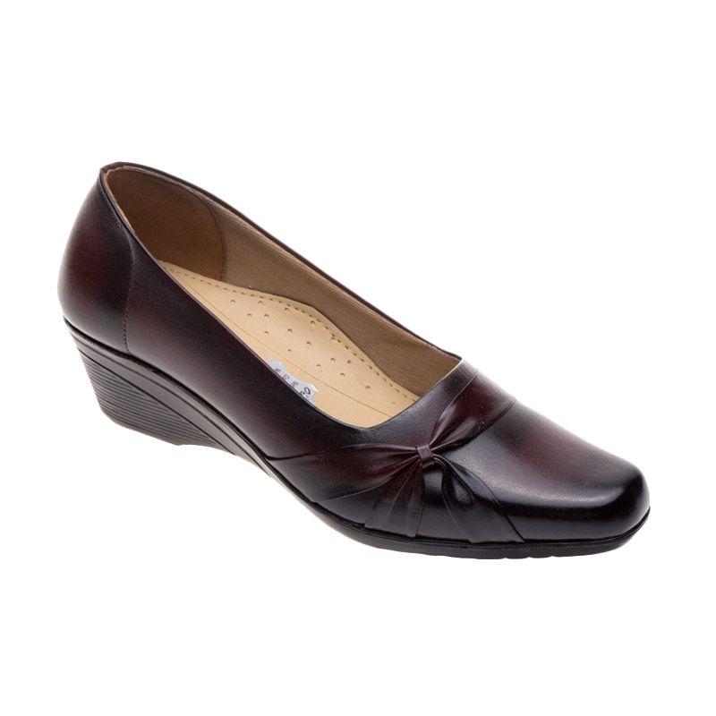 Vindy's Sakura 502 Maroon Sepatu Wanita