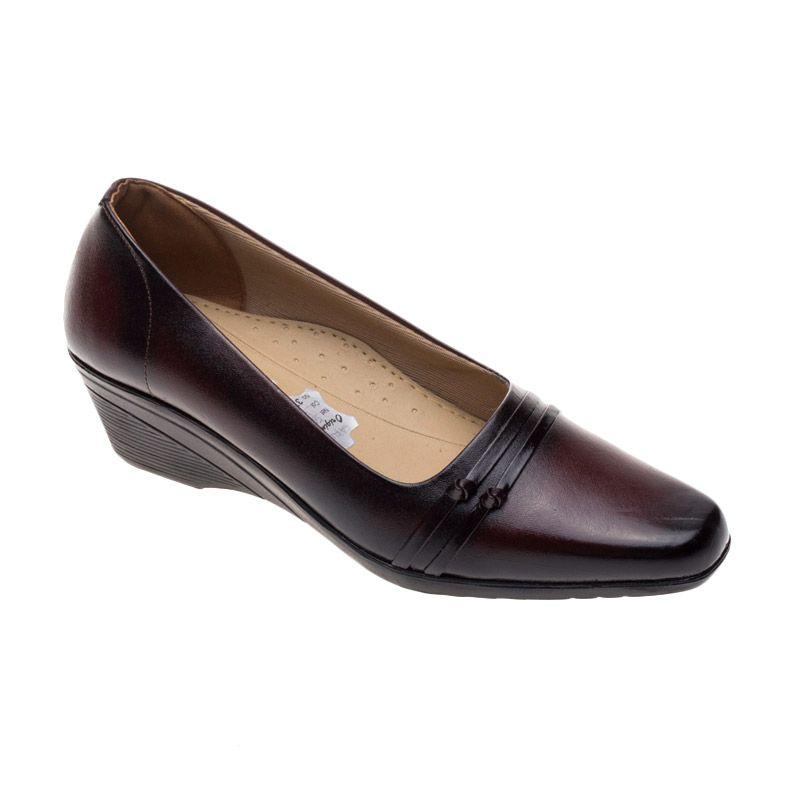 Vindy's Sakura 504 Maroon Sepatu Wanita