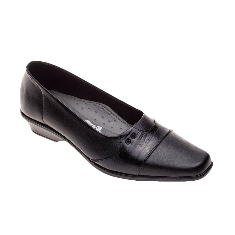 Vindy's Tulib 306 Black Sepatu Wanita