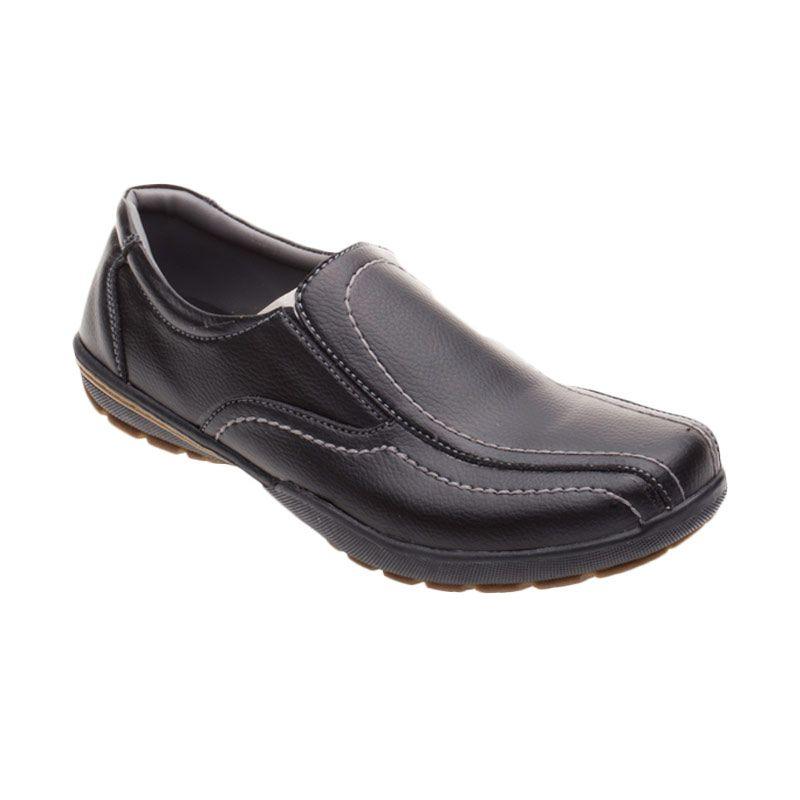 X-Cuppee JG 079 Black Sepatu Pria