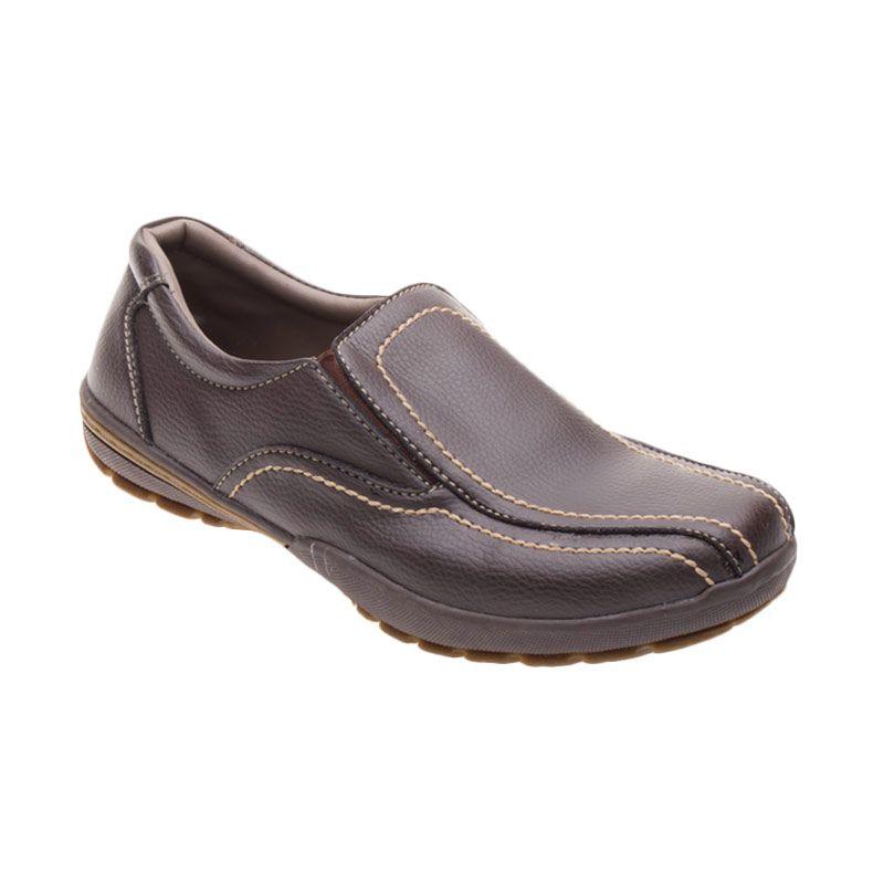 X-Cuppee JG 079 Brown Sepatu Pria
