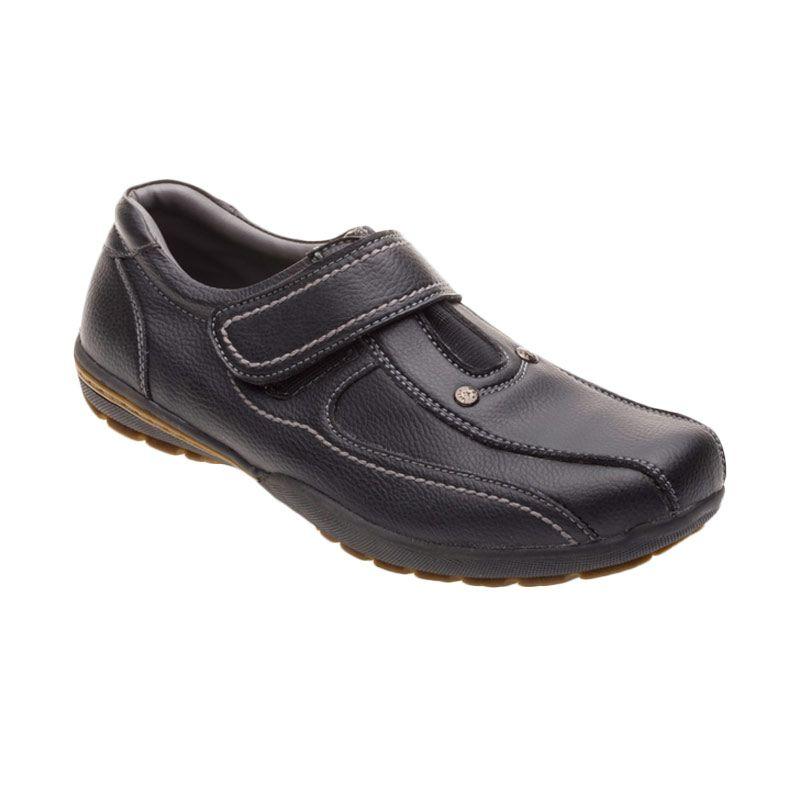 X-Cuppee JG 085 Black Sepatu Pria