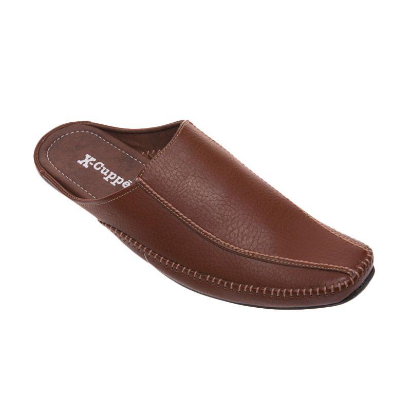 X-Cuppee XSL 01 Light Brown Sepatu Pria