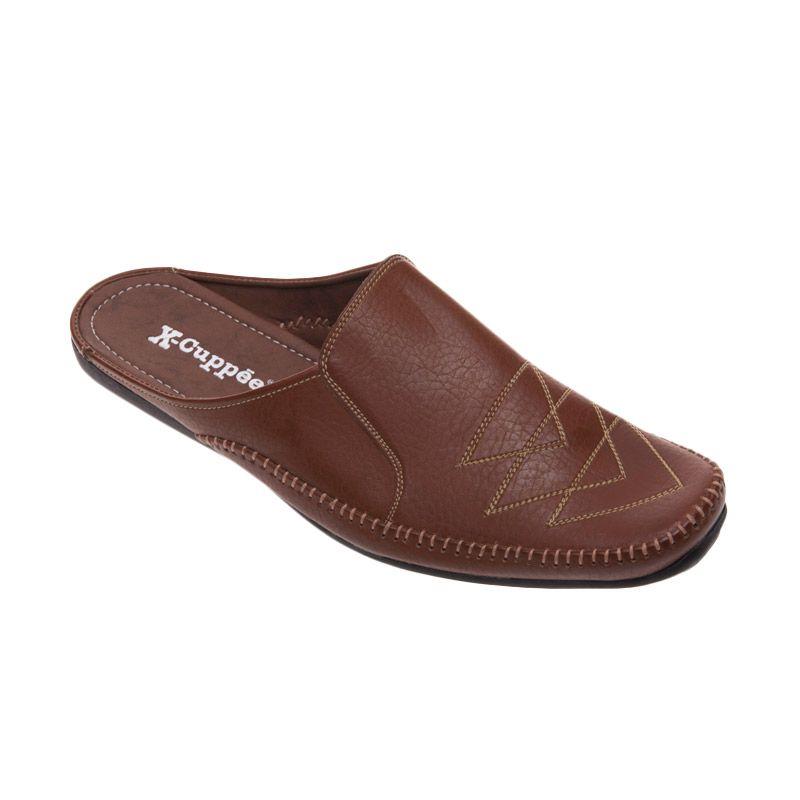 X-Cuppee XSL 04 Light Brown Sepatu Pria