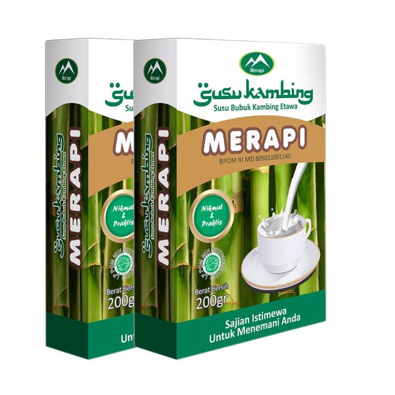 Susu Bubuk Kambing Etawa Merapi [2 Box-200 g]