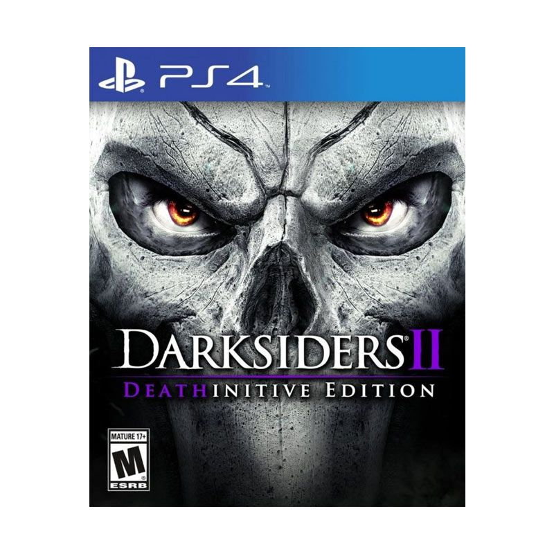 PS4 Darksiders II Deathinitive Edition DVD Game