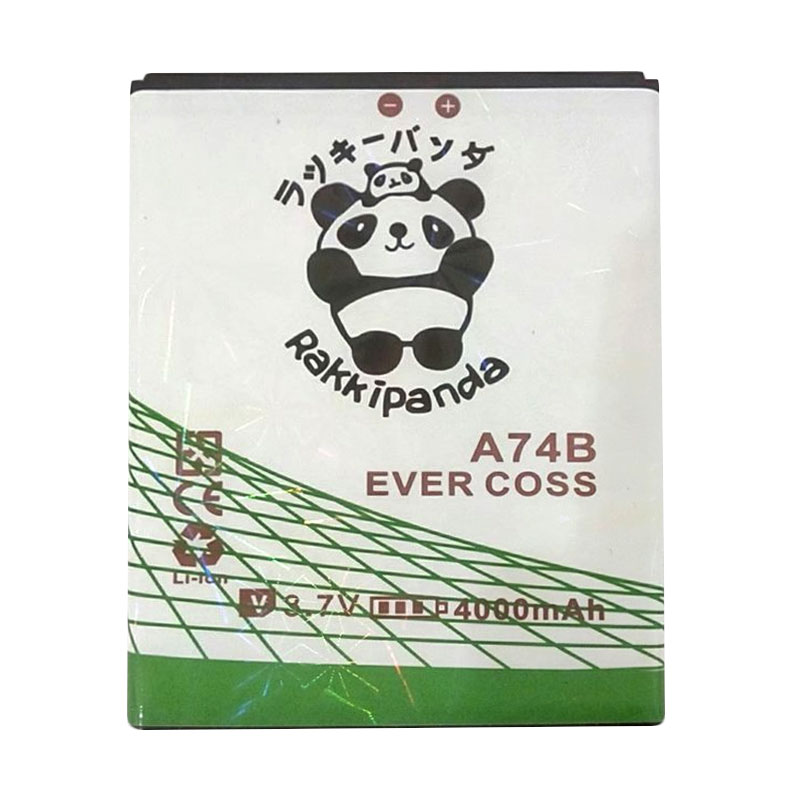 harga BATTERY BATERAI DOUBLE POWER DOUBLE IC RAKKIPANDA EVERCOSS CROSS A74B WINNER X 4000mAh Blibli.