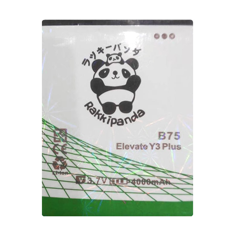 Baterai/Battery Double Power Double Ic Rakkipanda Evercoss Cross Elevate Y3 Plus B75 / Winner Y3 B75A [4000mAh]