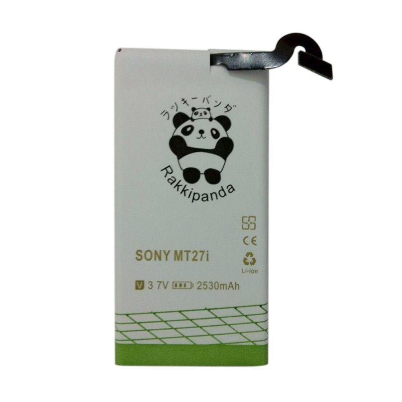 harga Baterai/Battery Double Power Double Ic Rakkipanda Sony Xperia Sola / Sony MT27i [2530mAh] Blibli.com
