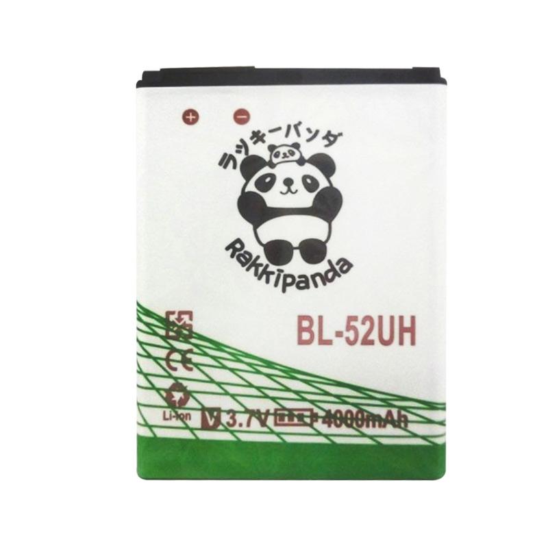 BATTERY BATERAI DOUBLE POWER DOUBLE IC RAKKIPANDA BL-52UH LG L70 (D320) / L70 DUAL (D325) / L65 (D285) / L65 DUAL (D280) 4000mAh