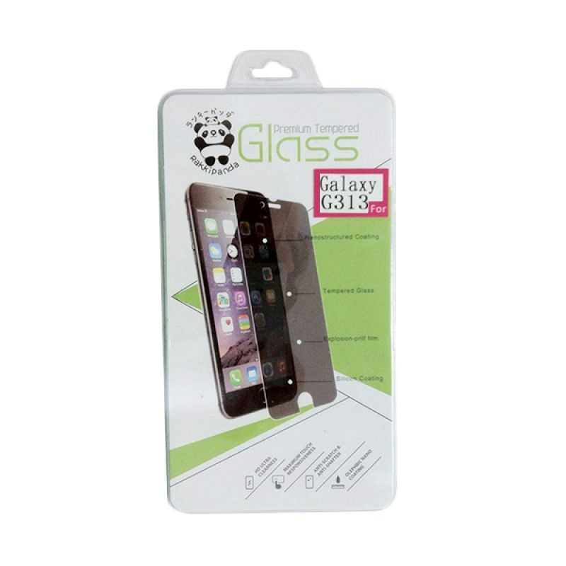 TEMPERED GLASS / SCREEN PROTECTOR RAKKIPANDA SAMSUNG G313 GALAXY V
