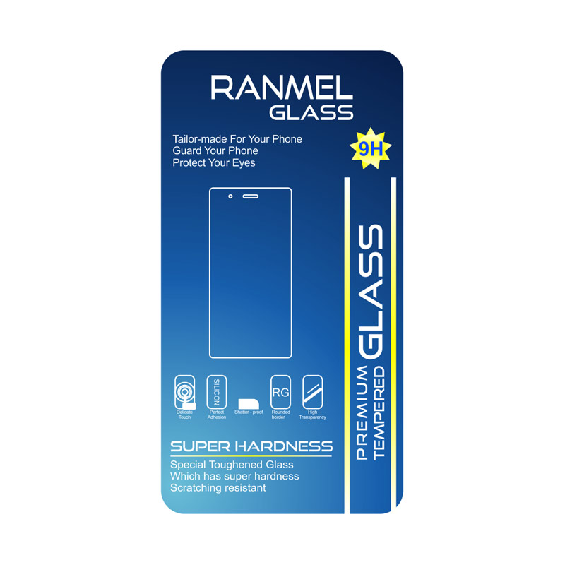 Ranmel Anti Gores Tempered Glass Screen Protector for Redmi Note 3 Pro