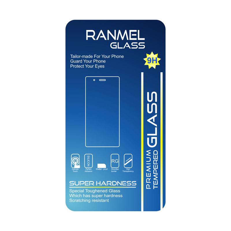 harga Ranmel Premium Tempered Glass for for Xiaomi Redmi Mi4i or Mi4c [Rounded Edge 2.5D] Blibli.com