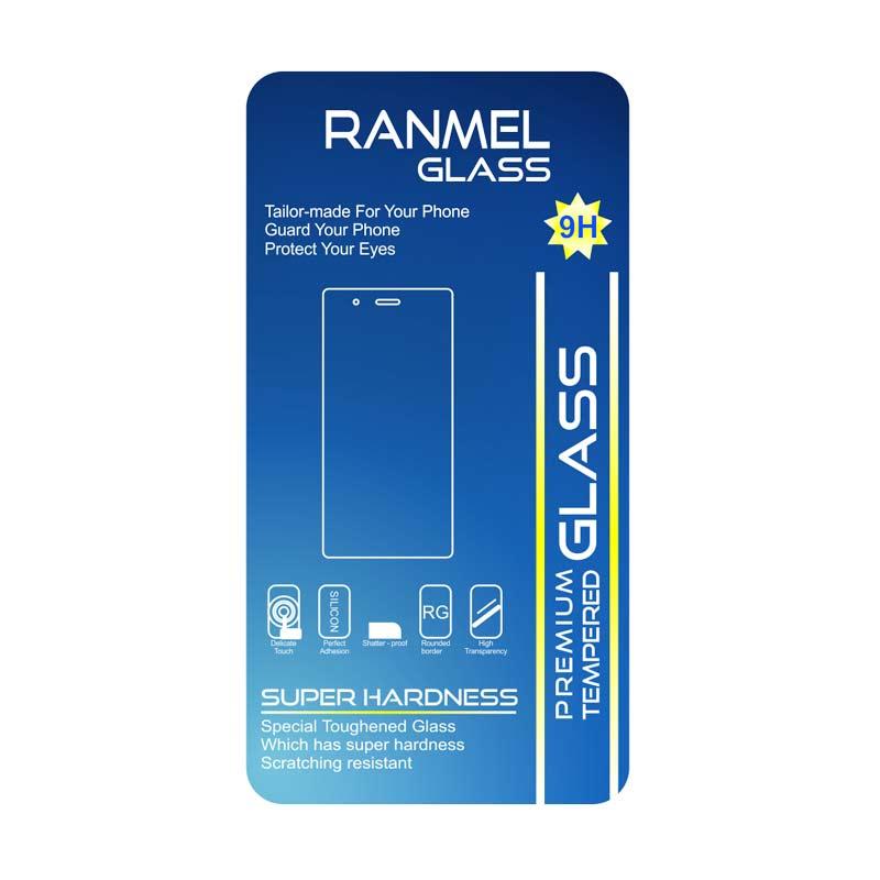 Ranmel Glass Tempered Glass Screen Protector Anti Gores for Lenovo A536