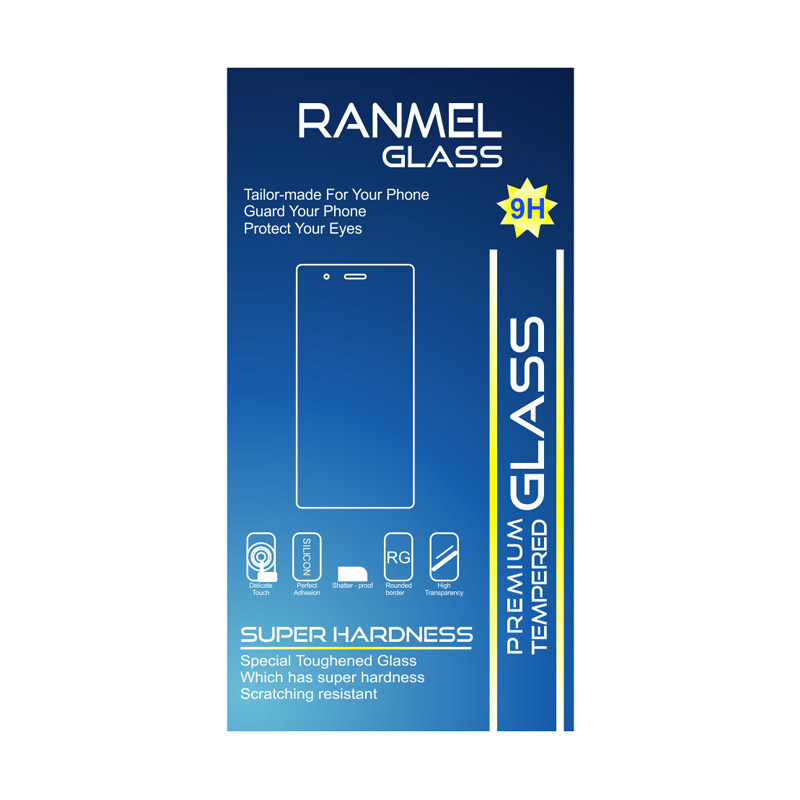Ranmel Glass Tempered Glass Screen Protector for Andromax EC