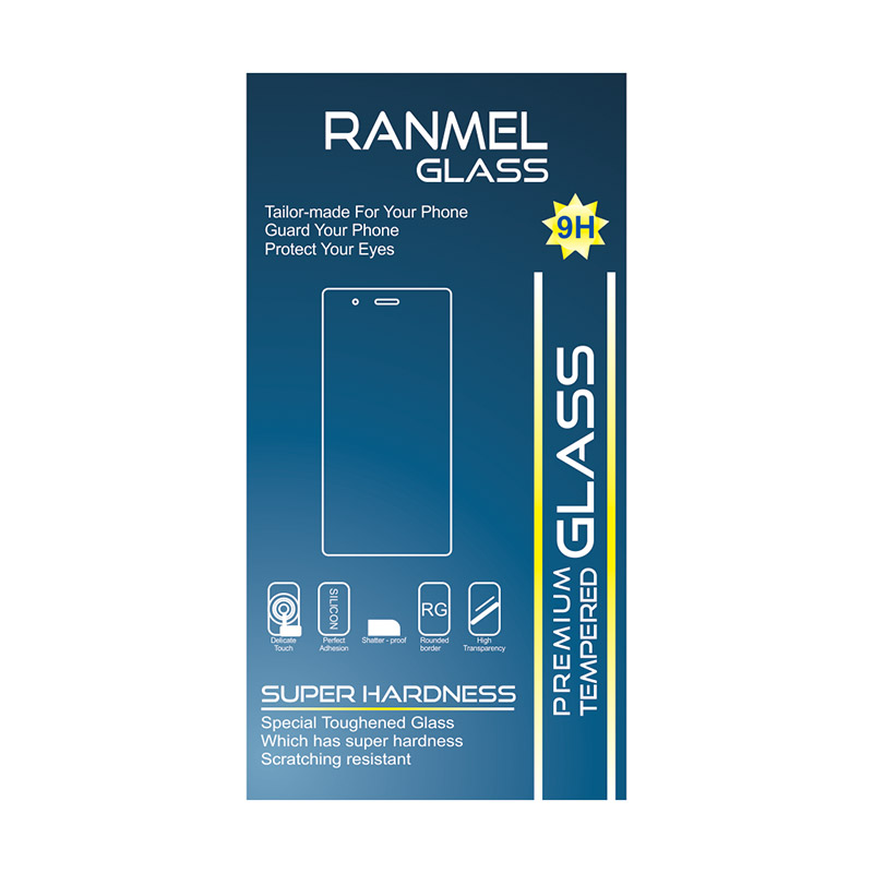 Ranmel Glass Tempered Glass Screen Protector for Htc One M8