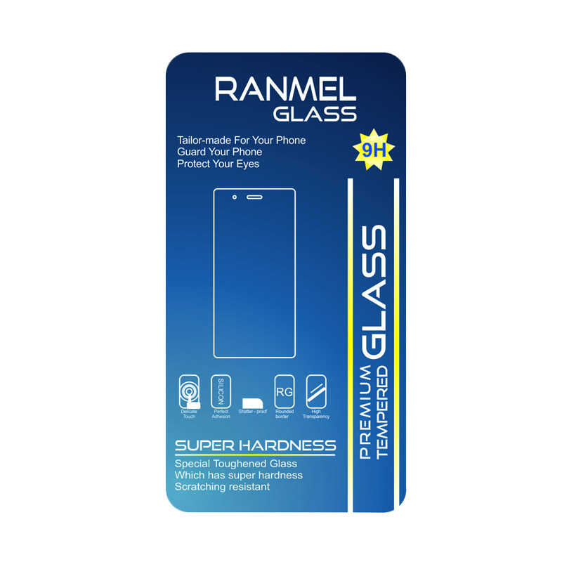 Ranmel Tempered Glass Screen Protector for Sony Xperia E4 - Clear