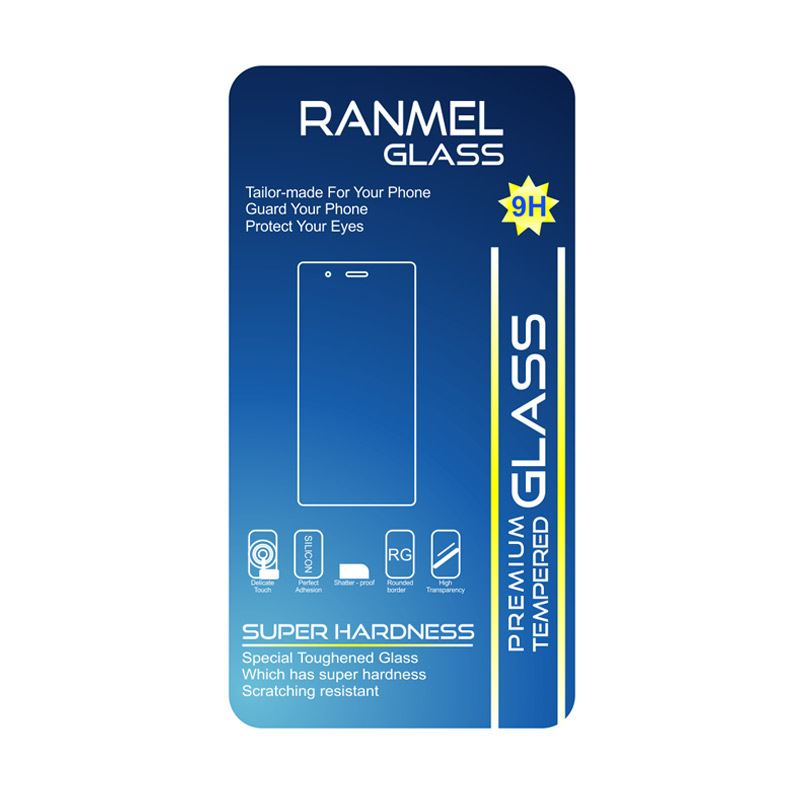 Ranmel Tempered Glass Screen Protector for Sony Xperia Z5 - Clear