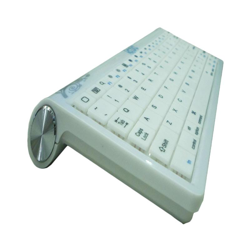 Rapid BK-308 Keyboard Bluetooth - Putih