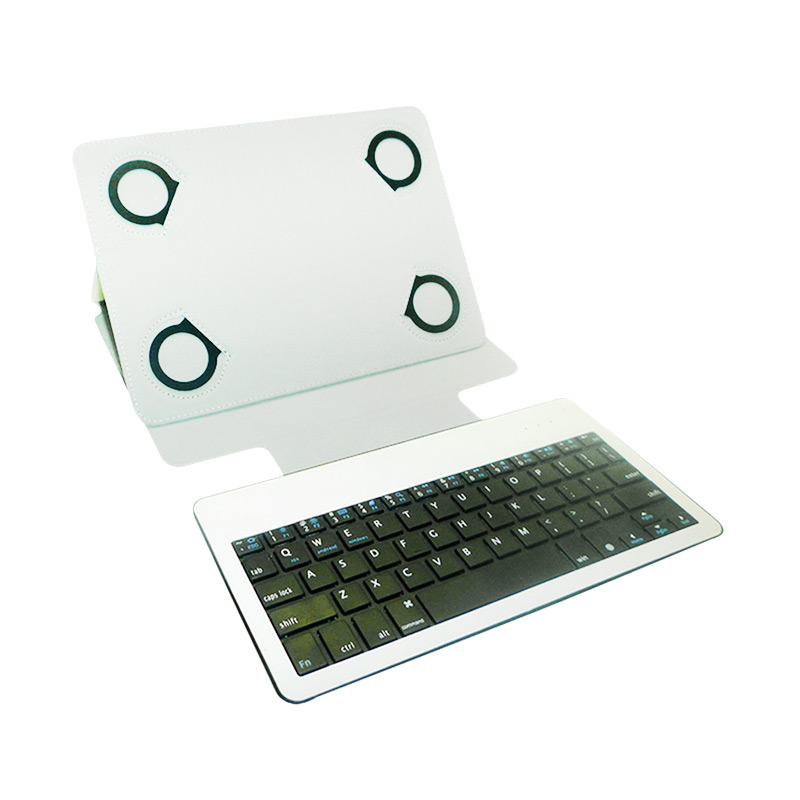 Rapid Bluetooth Keyboard with Casing for iPad - Putih