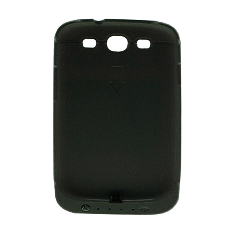 Rapid DF 202 Hitam Battery Case for Samsung S3 [Tanpa Penutup]