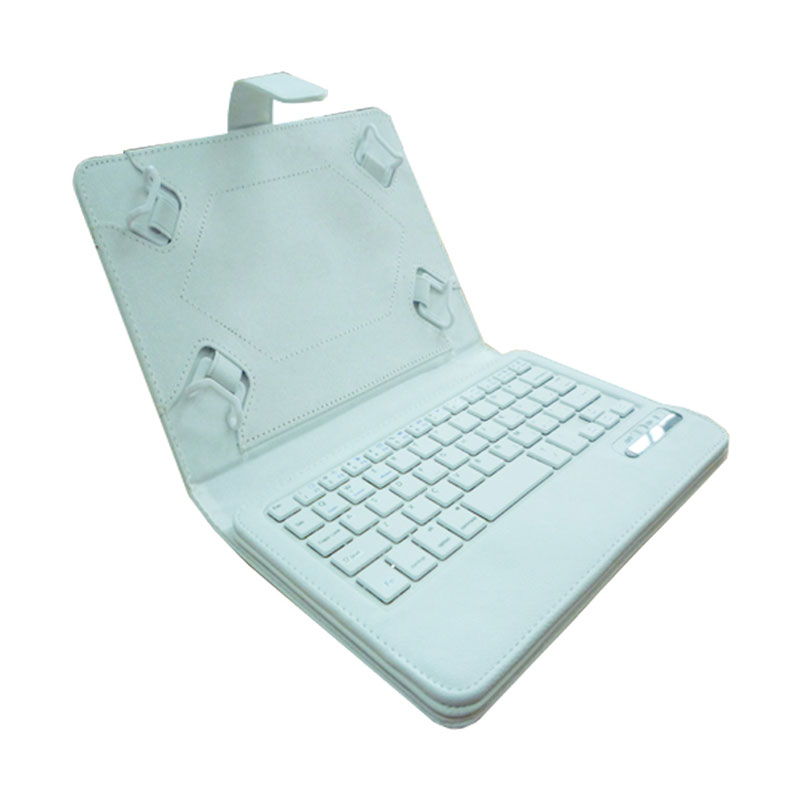 Rapid IS11-U10 Bluetooth Keyboard with Casing for Tablet [9/10 Inch] - Putih