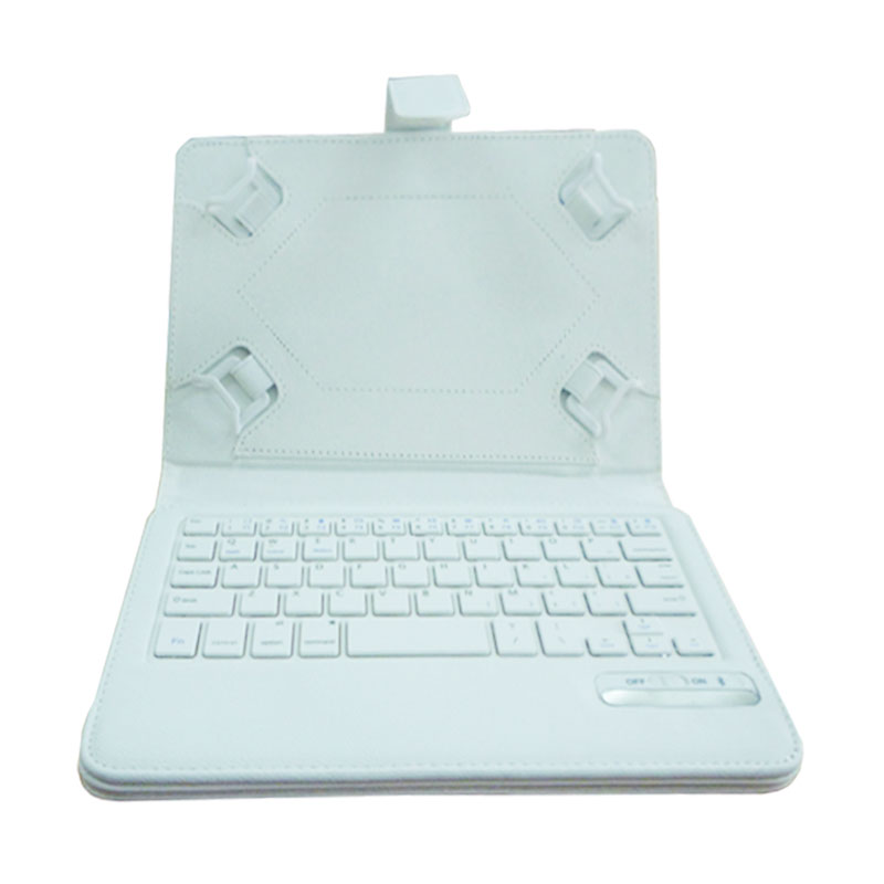 Rapid IS11-U7 Bluetooth Keyboard with Casing for Tablet [7/8 Inch] - Putih