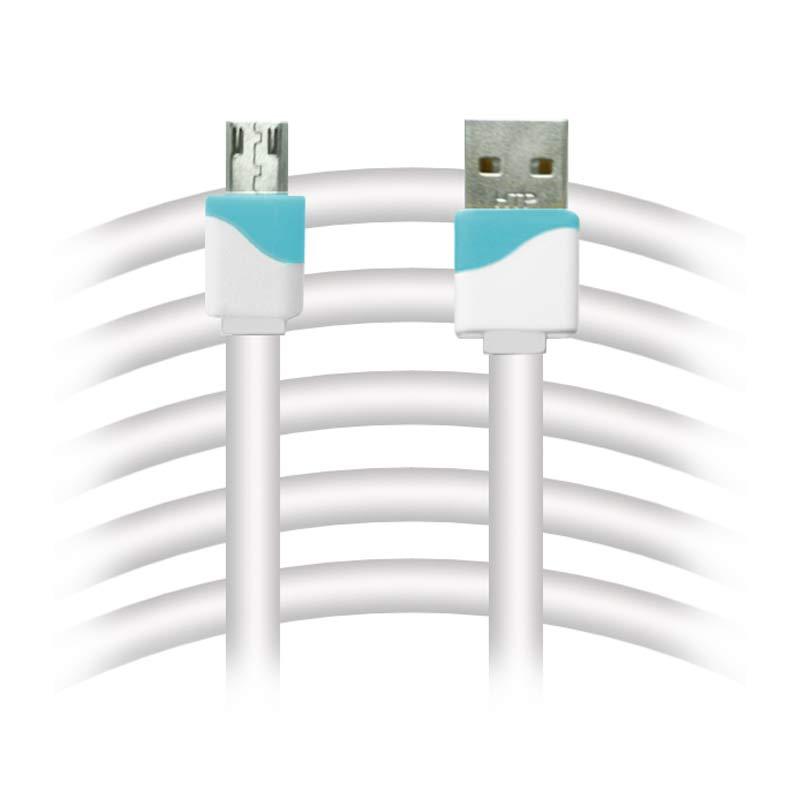 Rapid V8 Kabel USB To Micro USB Flat - Biru