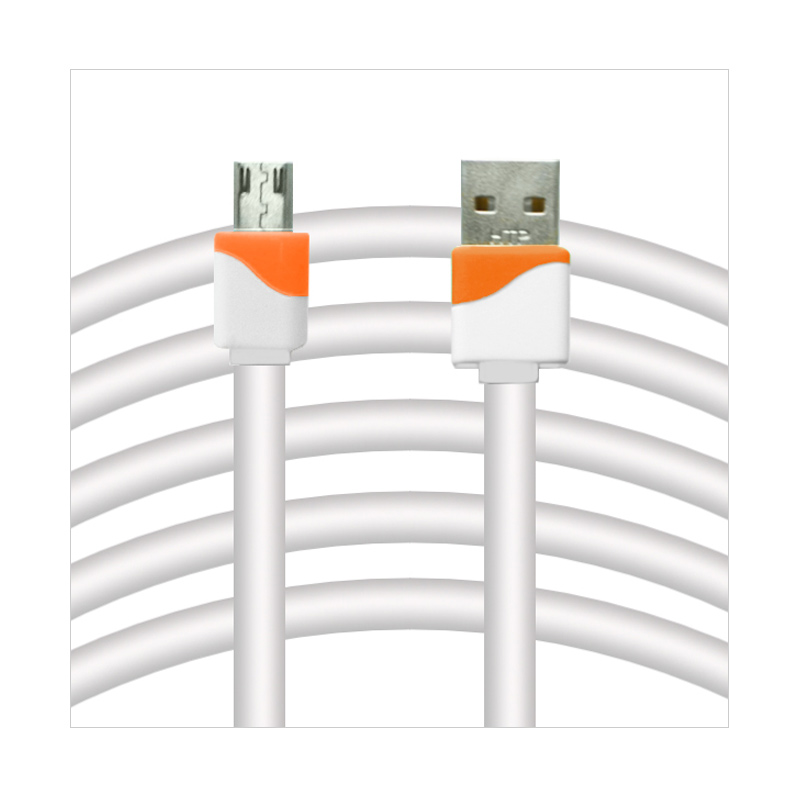 Rapid V8 Kabel USB to Micro USB Flat