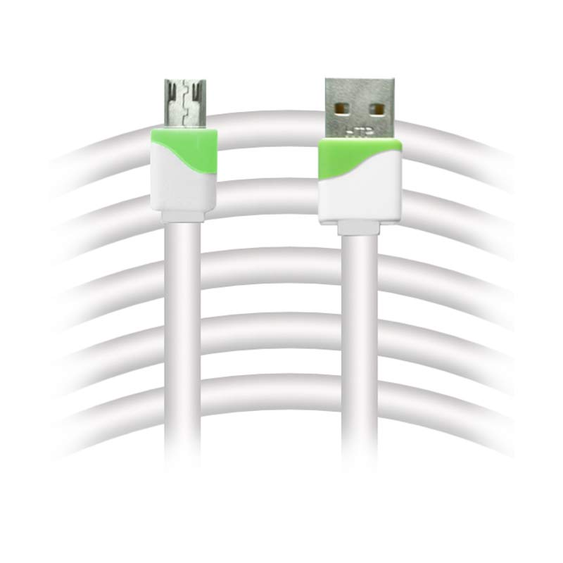 Rapid V8 USB to Micro USB Data Cable - Hijau