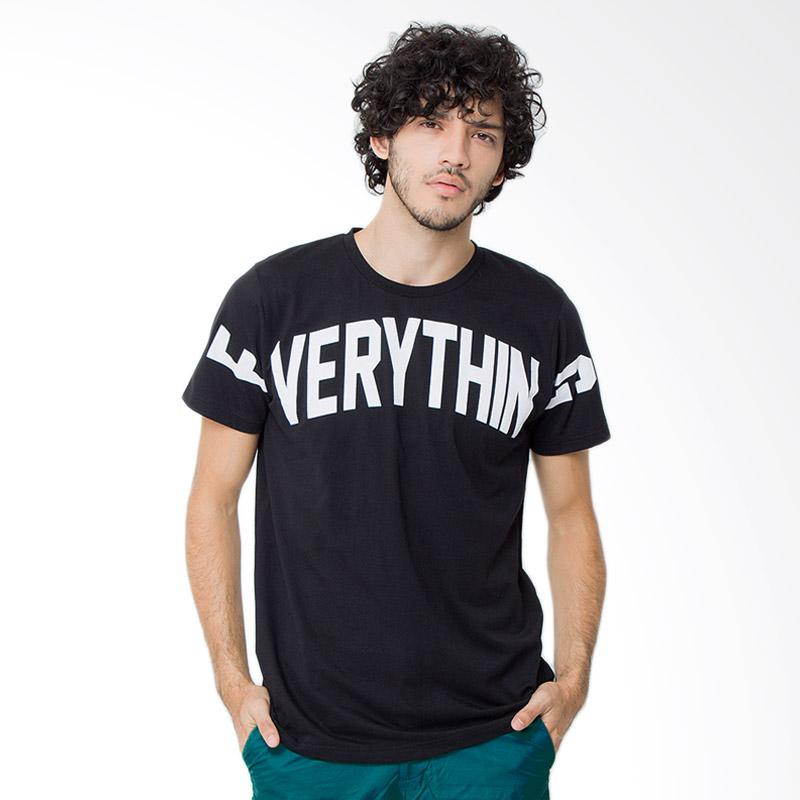 Rave Habbit Men Everything T-shirt - Black Extra diskon 7% setiap hari Extra diskon 5% setiap hari Citibank – lebih hemat 10%