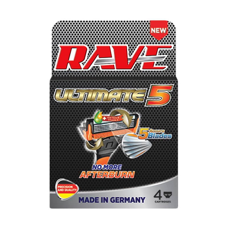 RAVE Ultimate 5 Cartridge Alat Cukur